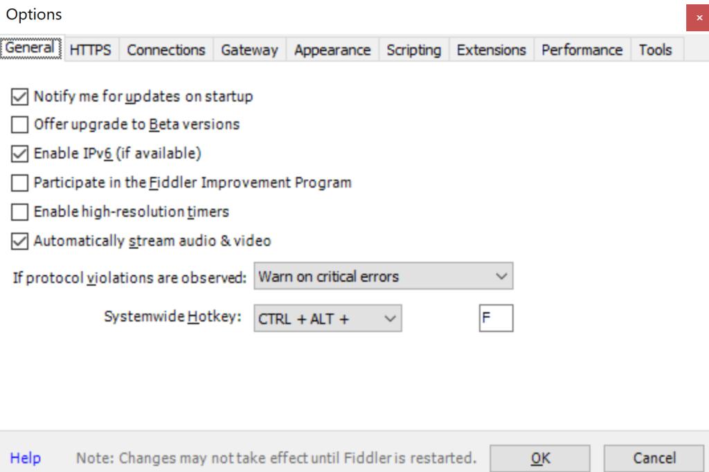 fiddler-settings-techonol